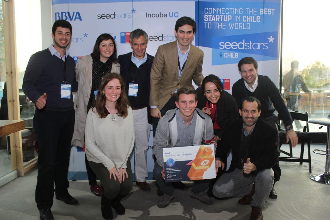 Equipo BBVA con Pago 46 - ganador de BBVA Open Talent Regional Chile
