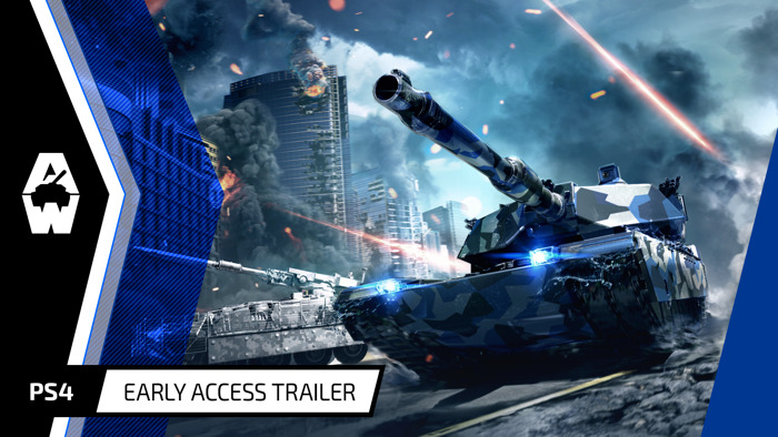 ARMORED WARFARE LAUNCHES IN EARLY ACCESS ON PLAYSTATION®4