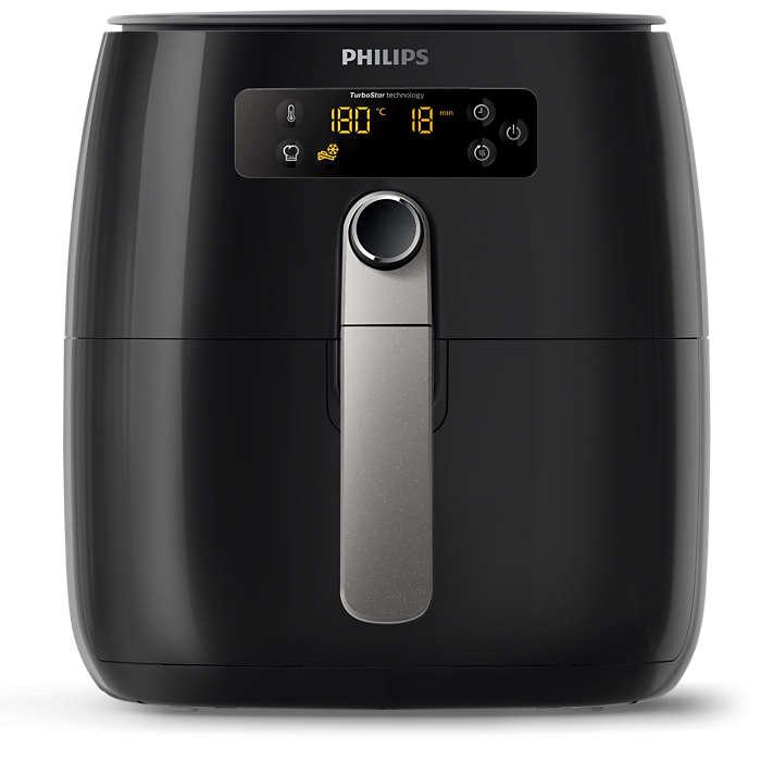 Philips Airfryer - omdat gezond leven belangrijk is.