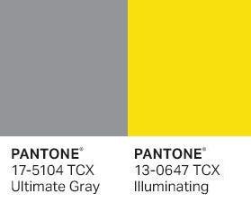 PANTONE chose two colors for 2021