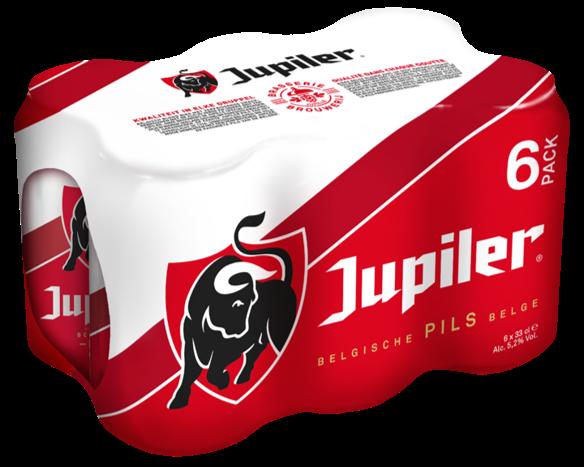 Preview: Brouwerij AB InBev maakt Jupiler-verpakking duurzamer