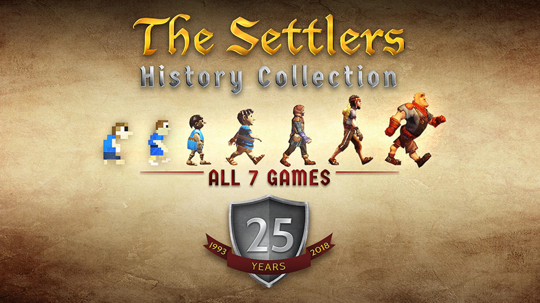 THE SETTLERS® HISTORY COLLECTION YA SE ENCUENTRA DISPONIBLE