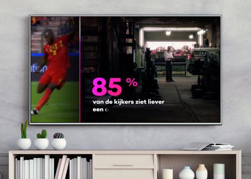 DDB s'empare de votre écran T.V. pour VTM GO