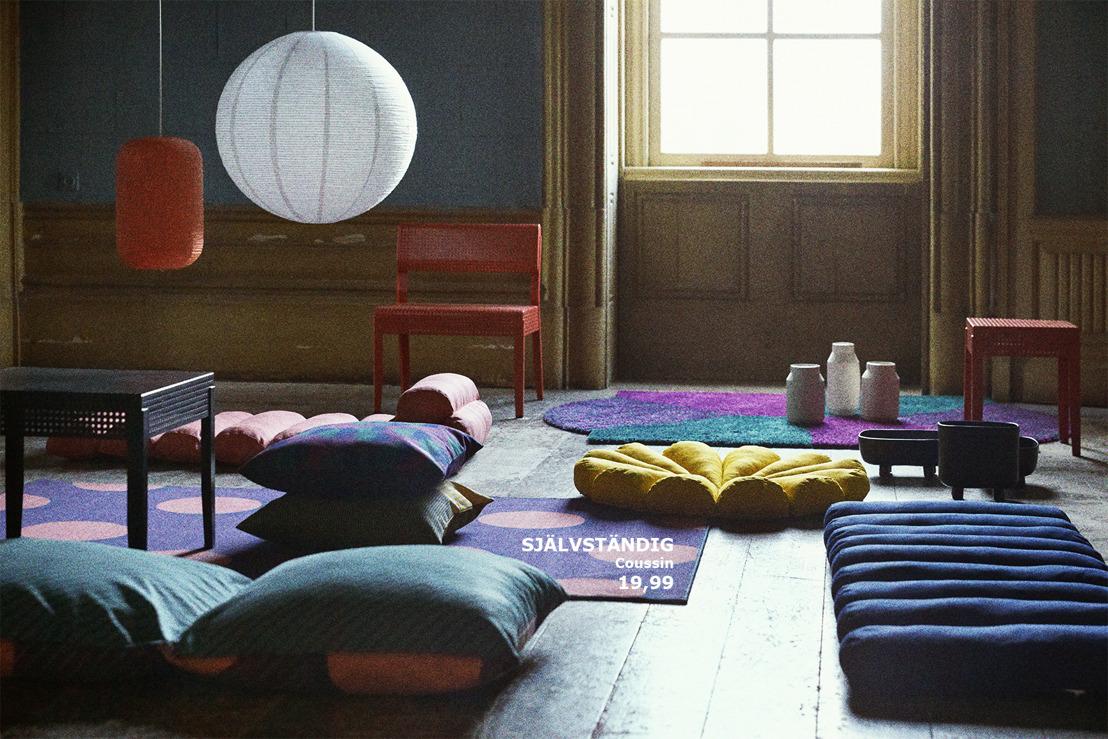 Réveillez votre créativité avec la nouvelle collection SJÄLVSTÄNDIG de IKEA
