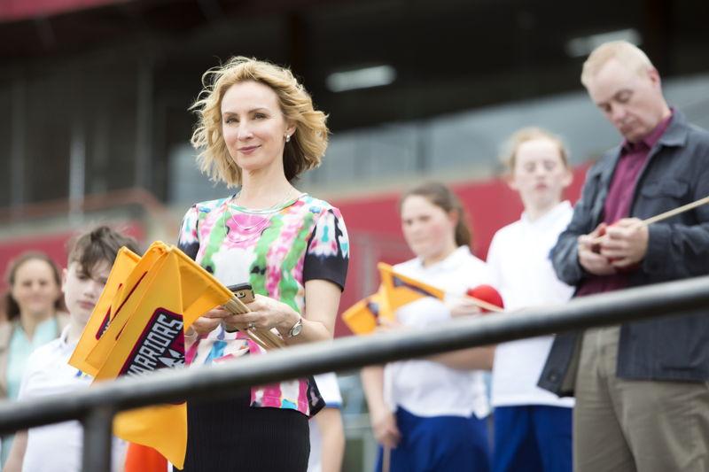 Lisa McCune as Deb Van Exel in The Warriors