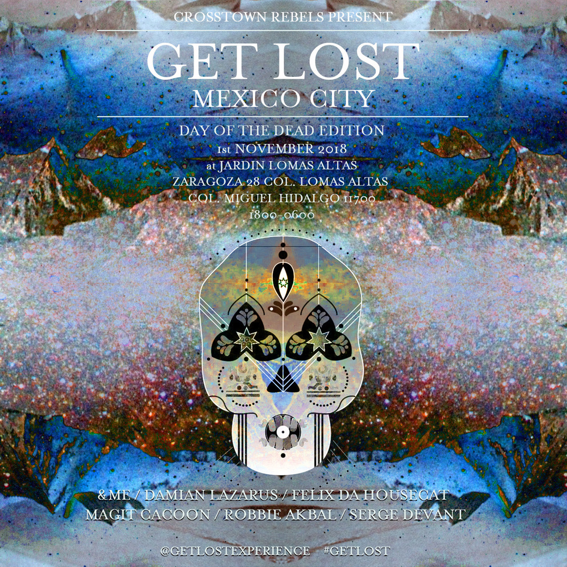 GET LOST MEXICO CITY DAY OF THE DEAD EDITION
