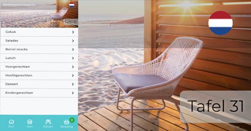 Roompot gasten bestellen voortaan maaltijden vanuit hun vakantiewoning met hun smartphone
