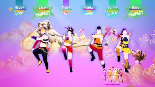 NEUE JUST DANCE-INITIATIVEN HALTEN SPIELER IN BEWEGUNG