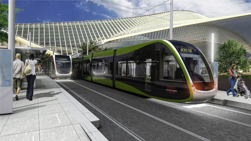 Tram de Liège : une nouvelle étape est franchie