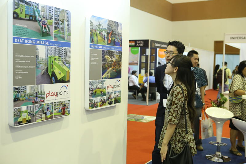 Visitors at KI and The Big 5 Construct Indonesia 2016