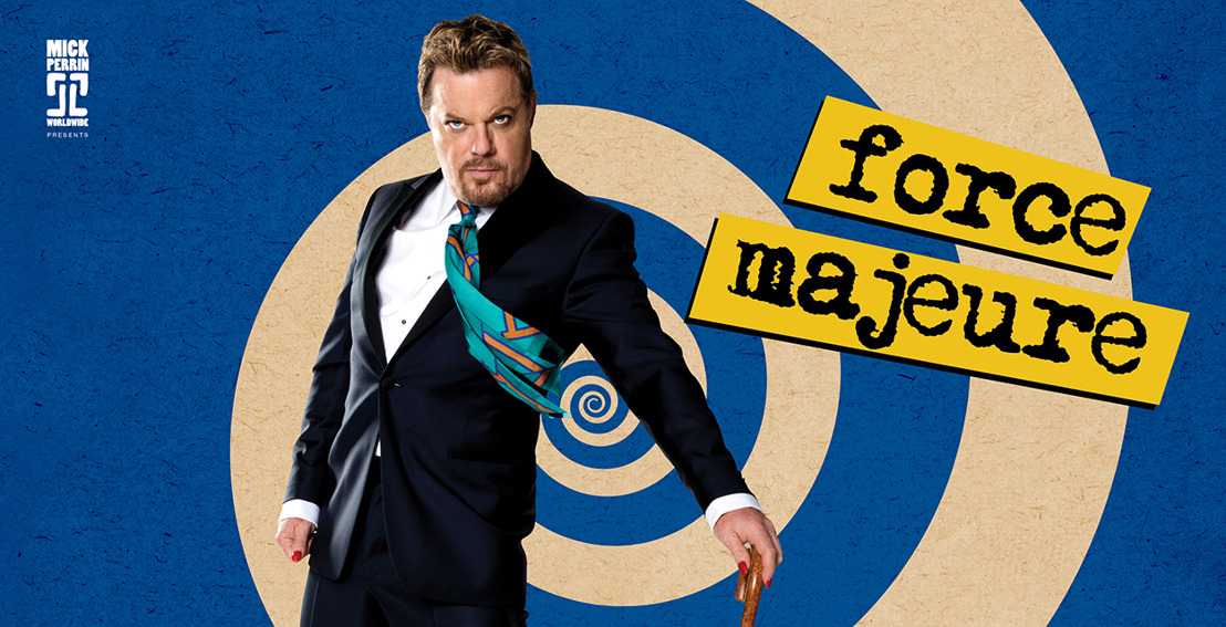 Eddie Izzard in Brussels with his new French show