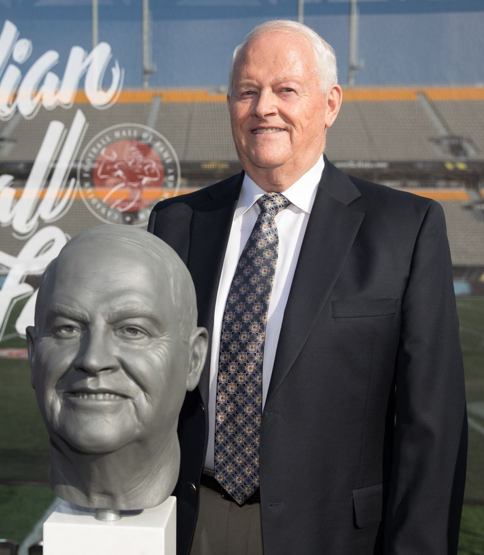 Stan Schwartz, Canadian Football Hall of Fame Class of 2017. Photo credit: Kevin Sousa/CFL