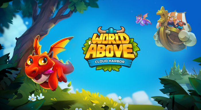 MAGICAL PUZZLE GAME 'WORLD ABOVE: CLOUD HARBOR' AVAILABLE ON IOS AND ANDROID GLOBALLY
