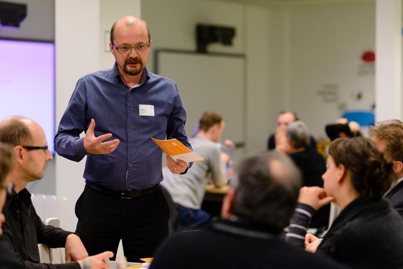 Dr. Jan Bormans, Valorisatie Manager Flanders DC