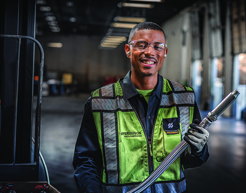 Jamelle, a fabricator, will make you redefine your definition of a hero