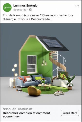 Havas et Luminus créent une maison virtuelle pour économiser de l'énergie.