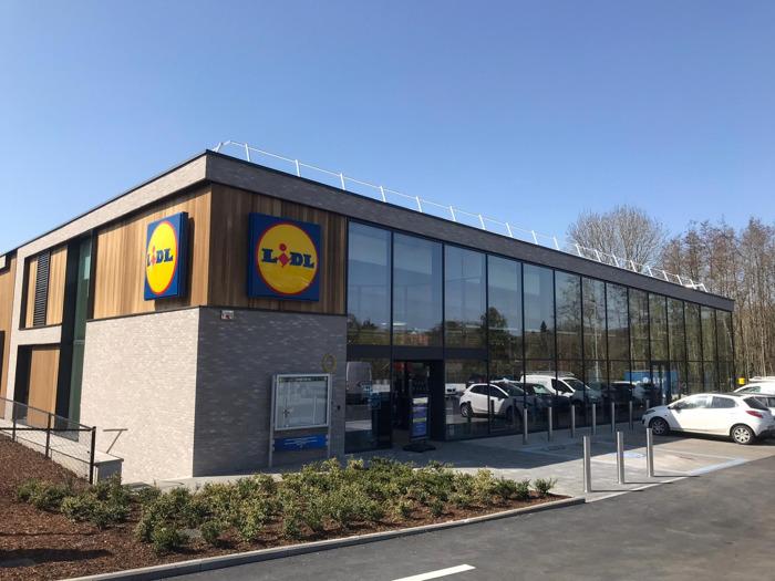 Lidl ouvre les portes d'un magasin plus spacieux et écologique à Rhode-Saint-Genèse