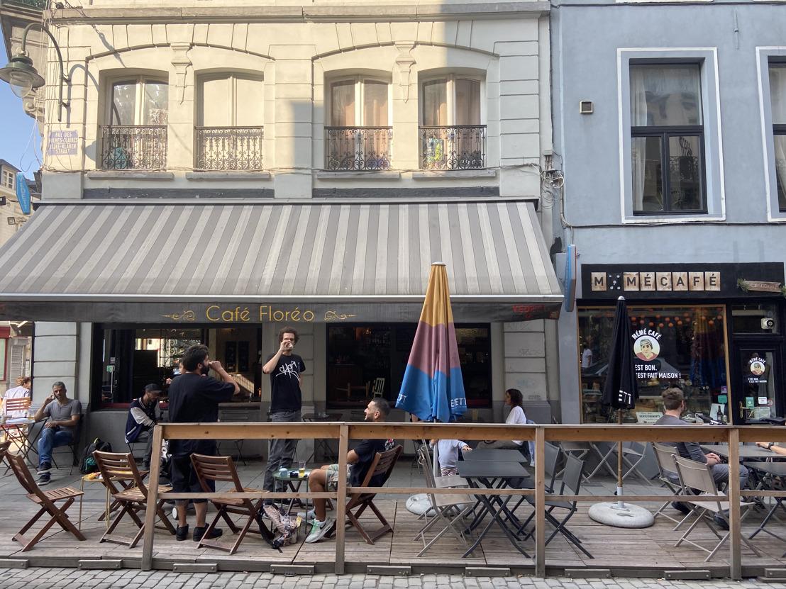 Parkeerplaatsen maken deze zomer plaats voor terrasjes
