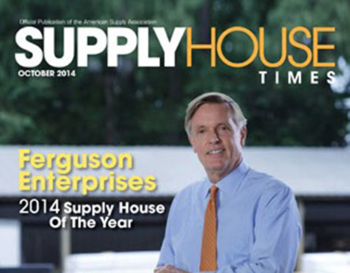 Ferguson named 2014 Supply House of the Year