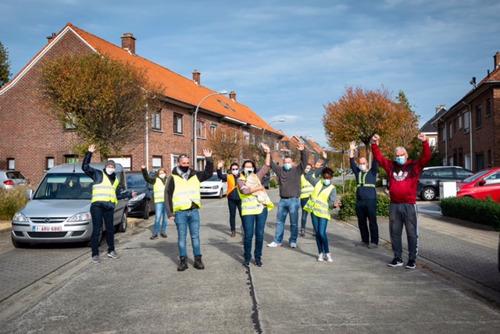 9.075 deelnemers stapten in oktober 31 keer de wereld rond in de strijd tegen borstkanker