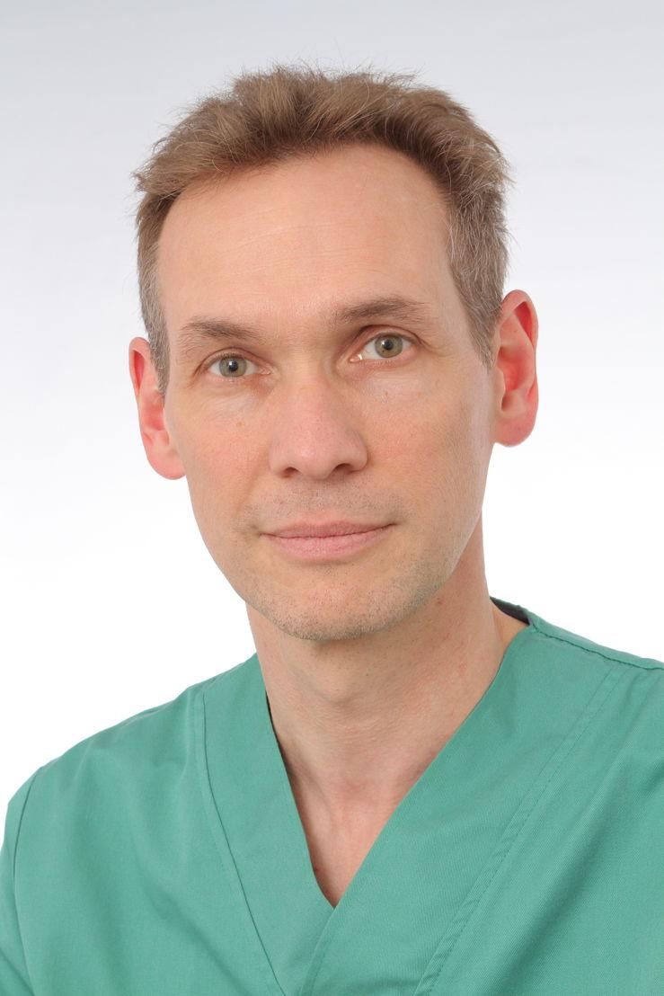 Prof. dr. Peter Sinnaeve, kliniekhoofd hart- en vaatziekten/ Copyright UZ Leuven