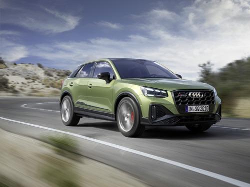 Une compacte sportive exceptionnelle pour les individualistes : Audi offre un style encore plus tranchant au SQ2