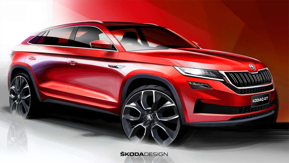 ŠKODA provides first view of KODIAQ GT