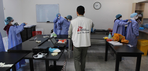 MSF scales up activities in Lebanon to respond to COVID-19 outbreak
