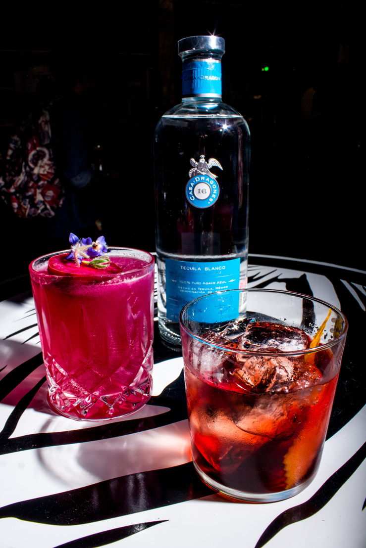 Tequila Casa Dragones mixology sessions