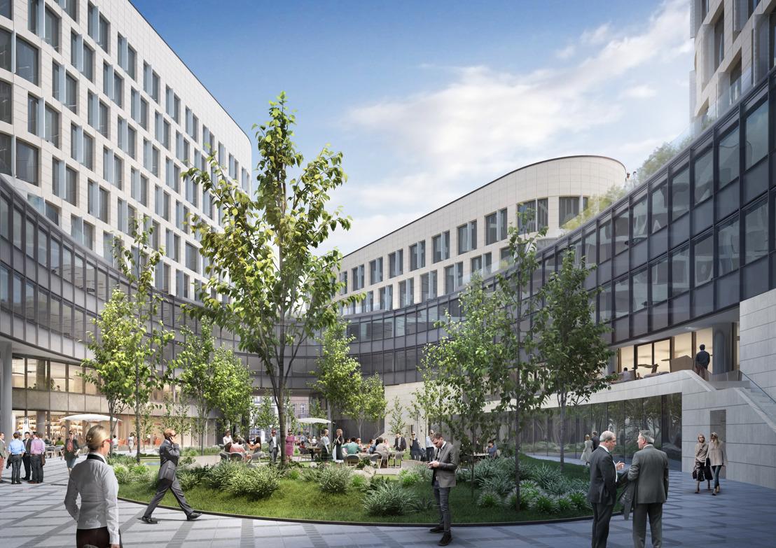 BESIX wint contract voor de bouw van 60 000 m² aan kantoren in het hart van Brussel