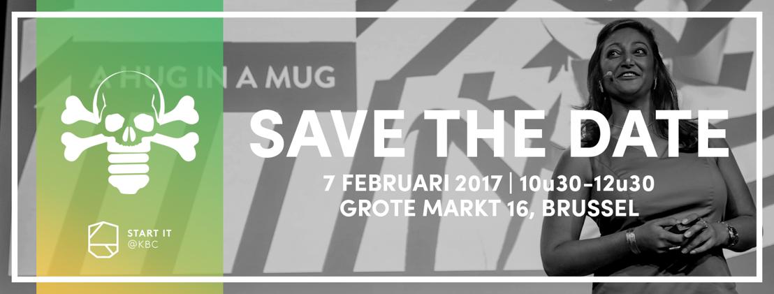 Save the date! Ontmoet de nieuwe lichting start-ups van 2017