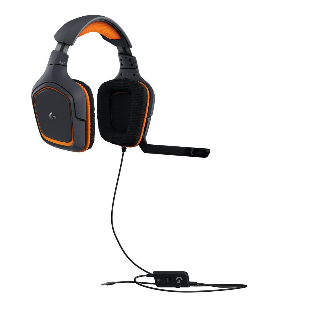 Auriculares con micrófono para juegos Logitech® G231 Prodigy