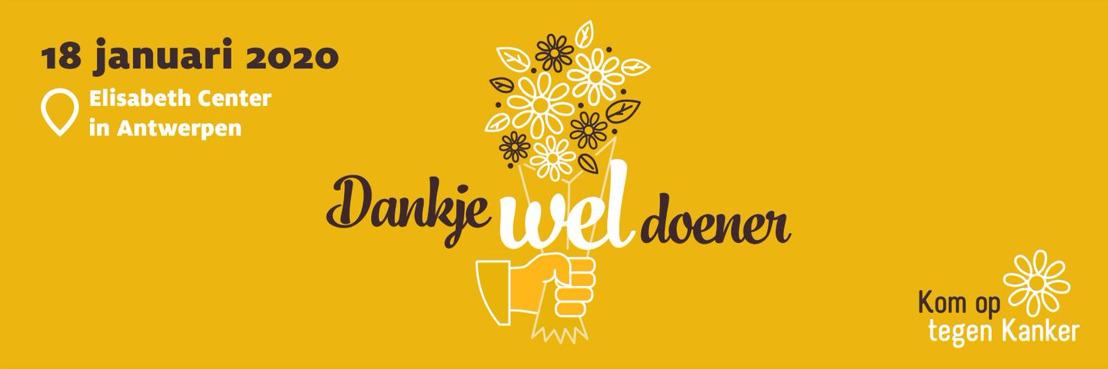 Kom op tegen Kanker sluit tweejaarlijkse campagne af met recordbedrag van 35.943.987 euro