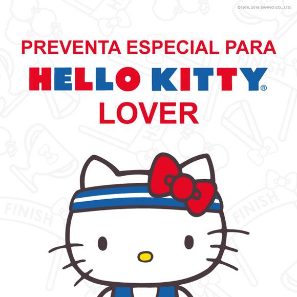 ¡ATENCIÓN, Hello Kitty lovers! Habrá preventa de La Gran Carrera Hello Kitty solo para ustedes @HelloKittyMex ico