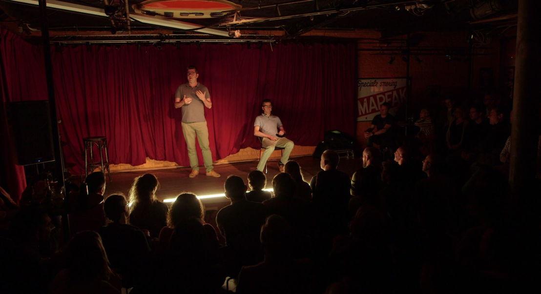'De bucketlist' in Iedereen beroemd: stand-up comedy (c) VRT