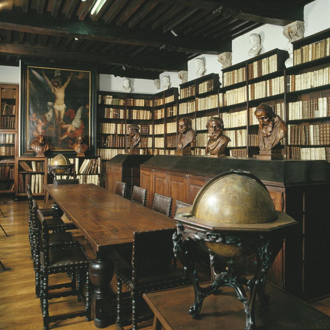 Museum Plantin-Moretus, Great Library, photo: Joris Luyten