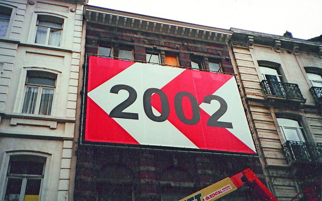 Het gebouw in de Karperbrug, 2001. Foto Jan Kempenaers