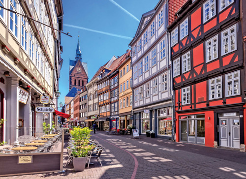 Hannover stippelt vijf gratis cultuurroutes uit
