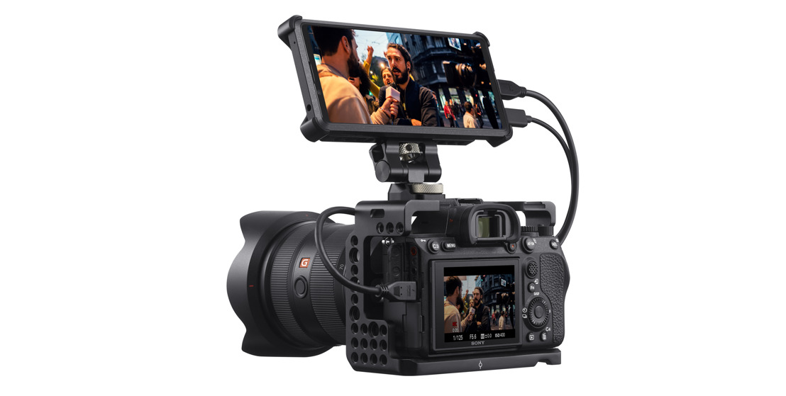 The New Xperia® PRO Communication Device from Sony Electronics—Delivers 5G Solution for Professional Content Workflow
