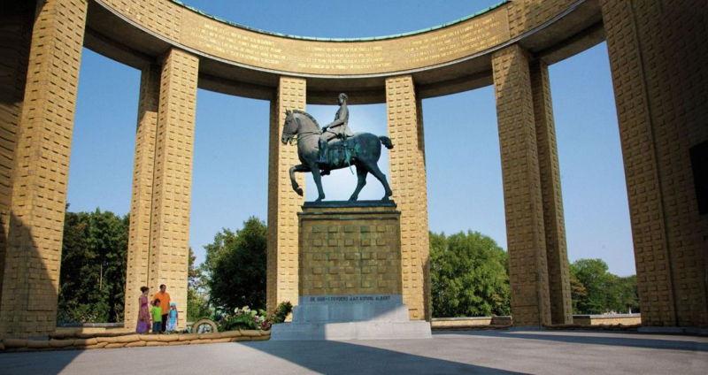 Monument Albert I Nieuwpoort