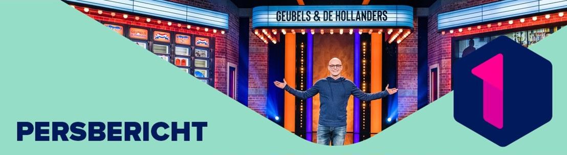 Philippe Geubels lacht met onze noorderburen in het nieuwe Geubels en de Hollanders