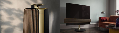 Bang & Olufsen Unveils new BeoVision Eclipse and BeoLab 50 in Brass Tone and Smoked Oak
