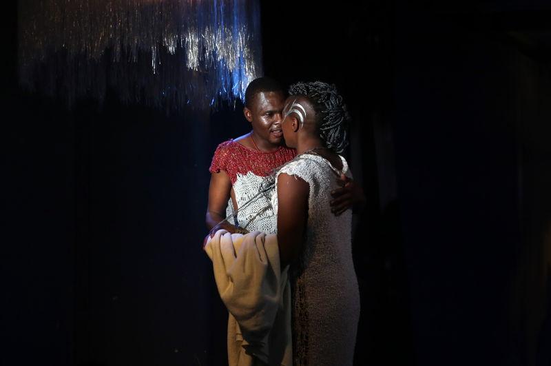 Holy Contract with Khayalethu Anthony and Zanele Azuza Radu- credit Nardus Engelbrecht Cape Town Fringe 2016