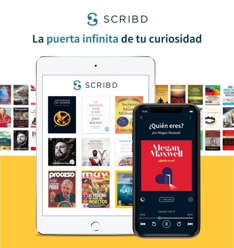 """Scribd celebra un año en México con su primera campaña publicitaria internacional: """"La Puerta Infinita a tu Curiosidad"""""""