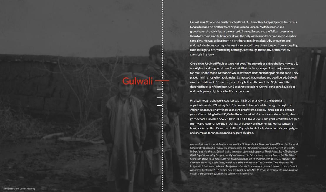 Website / Story Gulwali