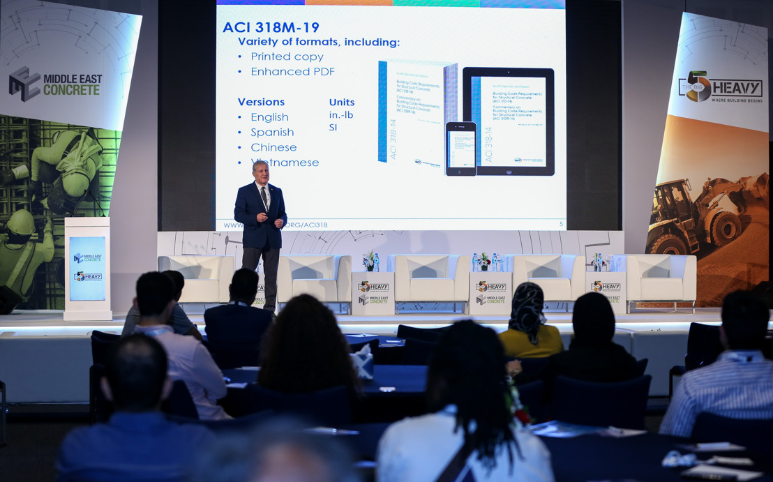AMERICAN CONCRETE INSTITUTE FURTHER ESTABLISH DUBAI PRECENCE WITH CONFERENCE AT MIDDLE EAST CONCRETE