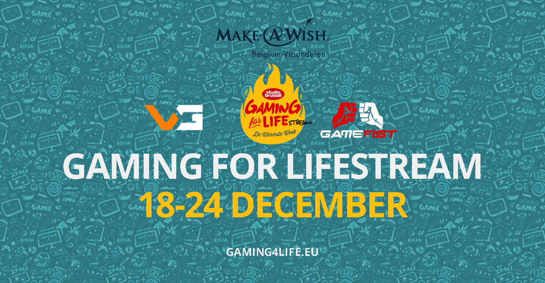 Belgische gamers bundelen krachten voor Warmste Week