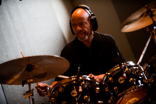 Steppin' Out: Chester Thompson Records Raw New Release at Sweetwater Studios