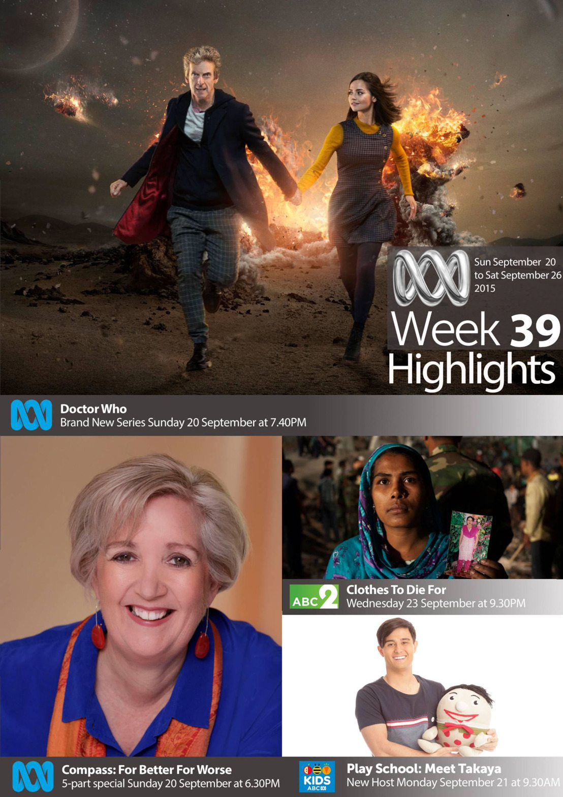 ABC TV Highlights - Week 39