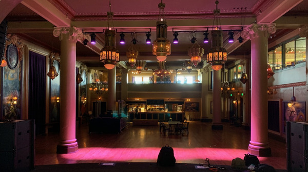 Preview: Powersoft Provides High-Density Amplification Solution at McMenamin's Elks Temple Spanish Ballroom
